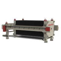 Rubber plate and frame filter press